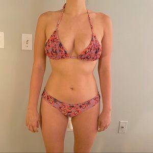 Tori Praver Floral Bikini